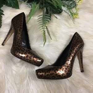 Aldo animal print sexy high heels